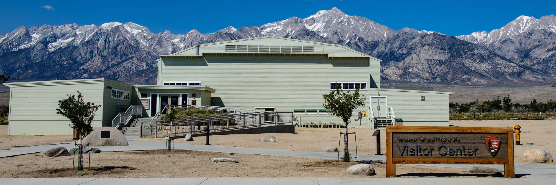 Manzanar visitor center