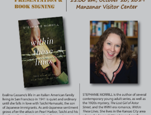 Author Stephanie Morrill Presentation and Book Signing: Within These Lines