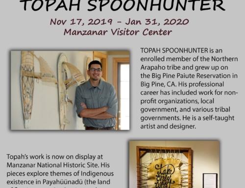 Manzanar Special Exhibit: Topah Spoonhunter