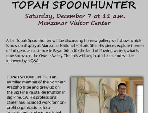 Topah Spoonhunter: Mazanar Artist Talk