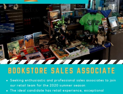 We're hiring bookstore associates for the 2020 summer season